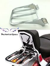Motorcycle Softail Backrest Sport Luggage Rack Harley FLSTF FLST FLSTC FLSTSC