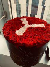 """Venus Et Fleur Arrangement:Large Round- 12"""" X 12"""" X 9"""" - 50+ Roses Smell great!"""