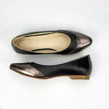NEWEST!!! S250 - Black Luxury Handmade Genuine Leather Women Shoes