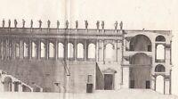 Gravure XVIIIe Théâtre Romain Roman theatre (Structure) Teatro Romano 1780