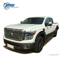 Pop-Out Bolt Fender Flares Fits Nissan Titan XD 2016-2020 Sand Blast Textured