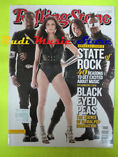 ROLLING STONE USA MAGAZINE 1103/2010 Black Eyed Peas Chuck Berry Lady Gaga No cd