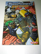TRANSFORMERS ENERGON BOOKLET INSERT PROMOTIONAL PROMO