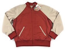 Levis Vintage Clothing Climate Seal Bomber Jacket Mens Large 1957 Rocket City