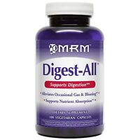 MRM DIGEST-ALL 100% Plant Enzymes Digestion Aid - 100 capsules COLON HEALTH