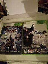 Batman Arkham City & Batman Arkham Asylum Xbox 360