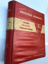 CASE 1200 TRACTION KING WHEEL TRACTORS  9-75291 SERVICE MANUAL MAINTENANCE BOOK