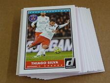2015 Panini DONRUSS SOCCER BASE LOT OF 25 CARDS THIAGO SILVA #54