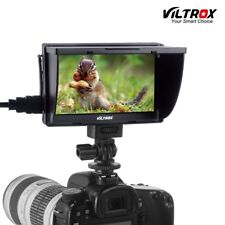 Viltrox DC-50 5'' DSLR TFT Field LCD HDMI Camera Video Monitor for Canon NiKon