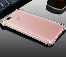 FUNDA gel tpu silicona huawei enjoy 7 / y6 pro 2017 anti golpe transparente