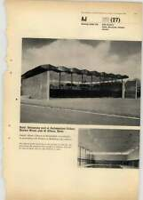 1966 Roof On Swimming Pool Ambassadors College Bricket Wood