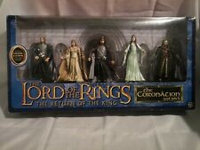 Lord Of The Rings Figure Set The Return Of The King Coronation Gift Pack Toybiz