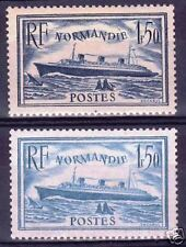 "FRANCE STAMP TIMBRE N° 299 + 300 "" NORMANDIE "" NEUFS xx LUXE VALEUR: 222€  R118"