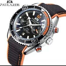 U.K.Paulareis Deep Sea Pilot Military Mechanical Sports Divers Style Watch