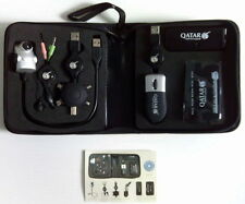 QATAR AIRWAYS USB WEBCAM MINI MOUSE HUB ALL IN ONE CARD READER ETC.. KIT NEW bz2