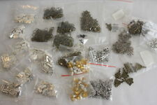 Mixed Lot of Jewelry Findings and Charms Jump rings Key Charms