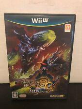 MONSTER HUNTER 3G HD VER. [ Capcom ] Nintendo Wii U Japan US SELLER
