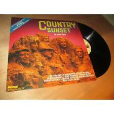 CRYSTAL GAYLE, JIM REEVES, WILLIE NELSON & country sunset RONCO Uk Lp 1981