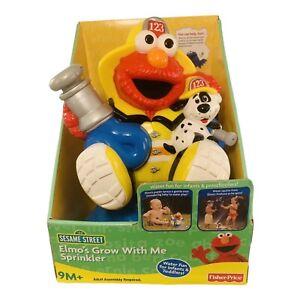 Elmo Grow With Me Sprinkler Fisher Price 2007 Mattel Sesame Street Brand New