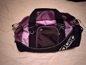 OGIO Half Dome Duffle Bag with audio pocket and shoulder strap.