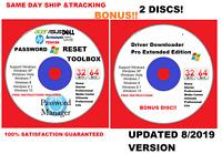 Dell Windows 10 8 8.1 7 Vista XP Repair recovery  Disc DVD Reinstall Software 19