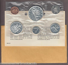 1962 Silver Uncirculated Set - Proof Like Set - 6 Coins - B267