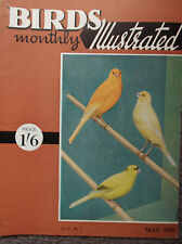 BIRDS MONTHLY ILLUSTRATED, VOL II, NO 1, MAY 1956