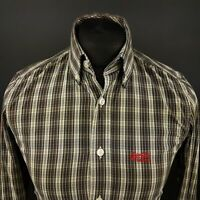 Superdry Mens Shirt XS Long Sleeve Multicoloured Slim Fit Check Cotton