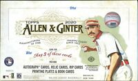 2020 Topps Allen & Ginter Baseball Hobby Box - Brand New & Factory Sealed