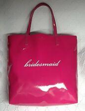 KATE SPADE FUCHSIA PINK Belles Bon Bridesmaid Shopper Tote Bag