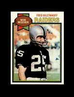 1979 Topps Football #305 Fred Biletnikof (Raiders) NM+