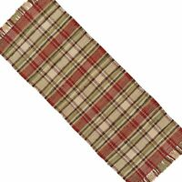 Heartfelt Plaid Primitive Country Table Runner by Park Designs 13x36