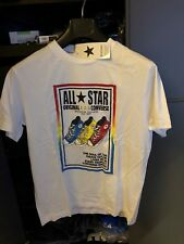 Limited Edition Converse All Stars Original Chuck Taylor Print Tshirt BNWT Med