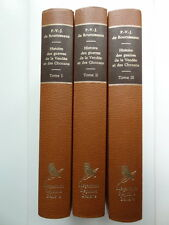 de Bourniseaux Histoire des Guerres de la Vendée Ed. Mégariotis 1979 3 volumes