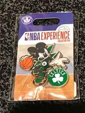 Disney Pin DS Mickey Mouse NBA Experience Boston Celtics Uniform NEW
