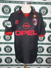maglia calcio shirt maillot trikot camiseta MILAN BAGGIO TG L 1996/97 NO THAI