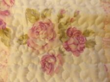 SINGLE QUILTED BEDSPREAD PLUS PILLOW COVER BY EMMA BARCLAY