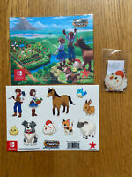 Harvest Moon: One World Microfibre Cloth, Stickers, Key Ring NO GAME