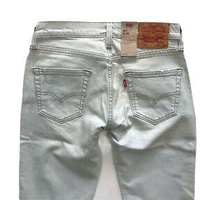 Levi's Levis Nwt Mens 511 Slim Fit No Place Like Home 045112728 Denim Jeans