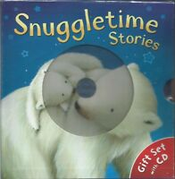 Snuggletime Stories Gift Set 3 books & CD - Snowy, Snuggle Up & Snowy Christmas