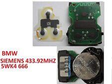 bmw E36 E38 E39 E46 Z3  SIEMENS 5WK4 666 remote key alarm board controller
