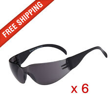 6 x Tinted Safety Glasses Eye Protection Cobra, Texas and Force