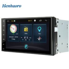 "Henhaoro 2 din in dash screen Android car stereo GPS Player receiver 7"" Radio"