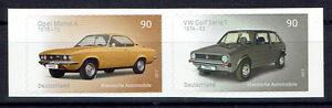3301-3302 **  skl. , BRD 2017, Automobile. Opel Manta + VW Golf