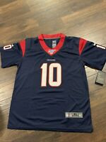 NWT Houston Texans Deandre Hopkins #10 Sewn Nike Jersey 100 NFL Youth XL