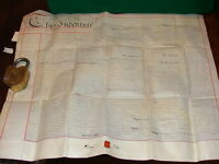 1872 INDENTURE,  MORTGAGE BY DEMISE, ROTHERHITHE  ENGLAND