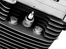 Kuryakyn Chrome Firedomes For Harley-Davidson Twin Cam & EVO XL Models