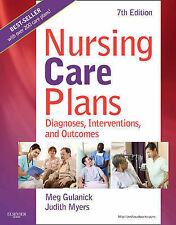 Nursing Care Plans: Diagnoses, Interventions, and Outcomes, 7e by Meg Gulanick