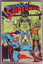 ! SUPERMAN POCHE N°14 en BON ETAT / TRES BON ETAT !