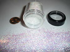 D00274  PREMIUM Grade Glitter 1mm flake-Moonlight snow